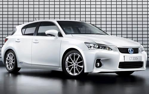 2011 Lexus CT 200h, Front Right Quarter View, manufacturer, exterior