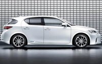 2011 Lexus CT 200h, Right Side View, exterior, manufacturer