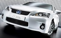 2011 Lexus CT 200h, Front View, exterior, manufacturer