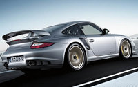 2011 Porsche 911, Back Right Quarter View, manufacturer, exterior