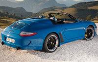2011 Porsche 911, Back Right Quarter View, exterior, manufacturer