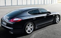 2011 Porsche Panamera, Back Right Quarter View, exterior, manufacturer