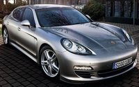 2011 Porsche Panamera, Front Right Quarter View (Porsche Cars North America, Inc.), exterior, manufacturer
