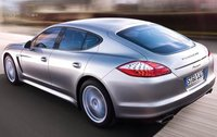 2011 Porsche Panamera, Back Left Quarter View, exterior, manufacturer