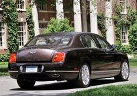 2012 Bentley Continental Flying Spur, Back quarter view copyriht AOL Autos. , exterior, manufacturer