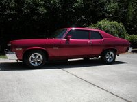 1973 Chevrolet Nova, Rare LS6 454 V-8 engine/chrome dress-up kit. Bored .060, 468 cubic inches, 10:1 ratio, 525 HP. Summit Racing 750 cfm, 4 bbl. electric choke carb.  Rare L88 intake manifold  Forged...
