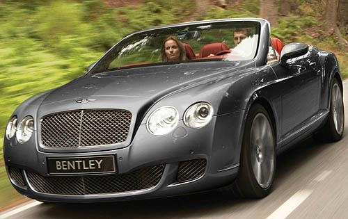 2010 Bentley Continental GTC, Front Left Quarter View (Bentley Motor Cars), exterior, manufacturer