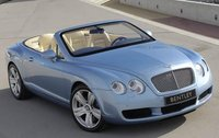 2010 Bentley Continental GTC, Front View (Bentley Motor Cars) , exterior, manufacturer