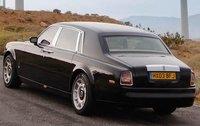 2004 Rolls-Royce Phantom, Back Quarter View, exterior, manufacturer