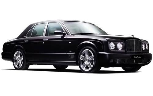 2009 Bentley Arnage, Front Right Quarter View, exterior, manufacturer