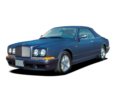 2009 Bentley Azure, Front Left Quarter View, exterior, manufacturer