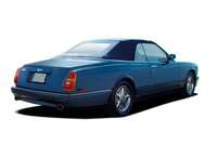 2009 Bentley Azure, Back Right Quarter View, exterior, manufacturer