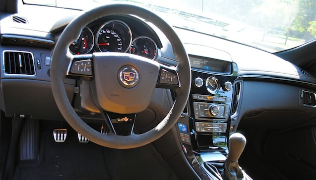 2012 Cadillac CTS-V Coupe Base, 2012 Cadillac CTS-V Coupe 6.2L picture, interior