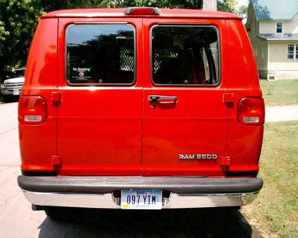 Picture of 2000 Dodge Ram Wagon 3 Dr 2500 Passenger Van Extended