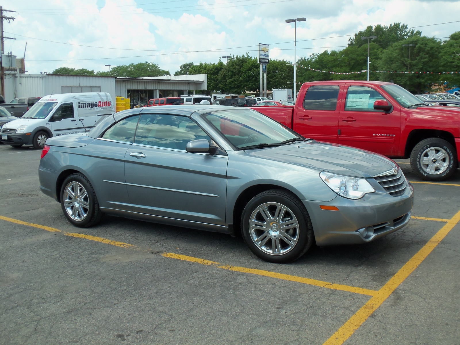 2008 chrysler sebring limited convertible profile exterior. Cars Review. Best American Auto & Cars Review