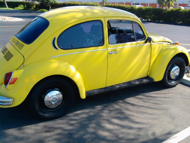 1972 Volkswagen Super Beetle, Kicking back!, exterior
