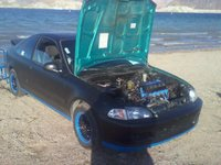 Picture of 1994 Honda Civic Coupe, exterior, engine, gallery_worthy