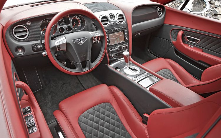 2008 Bentley Continental Gt Interior Pictures Cargurus