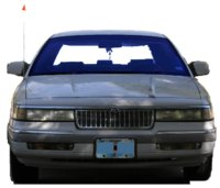 1992 Mercury Grand Marquis 4 Dr LS Sedan picture, exterior