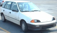 1992 Geo Metro 4 Dr STD Hatchback, Just like this, but mine was light metallic green., exterior