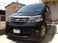 2005 Toyota Alphard Overview