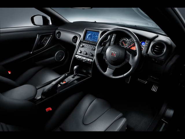 2012 nissan gt r interior pictures cargurus. Black Bedroom Furniture Sets. Home Design Ideas