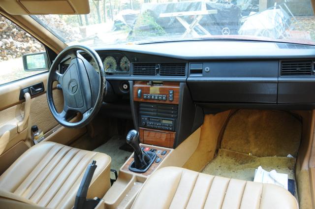 1991 Mercedes Benz 190 Class Interior Pictures Cargurus