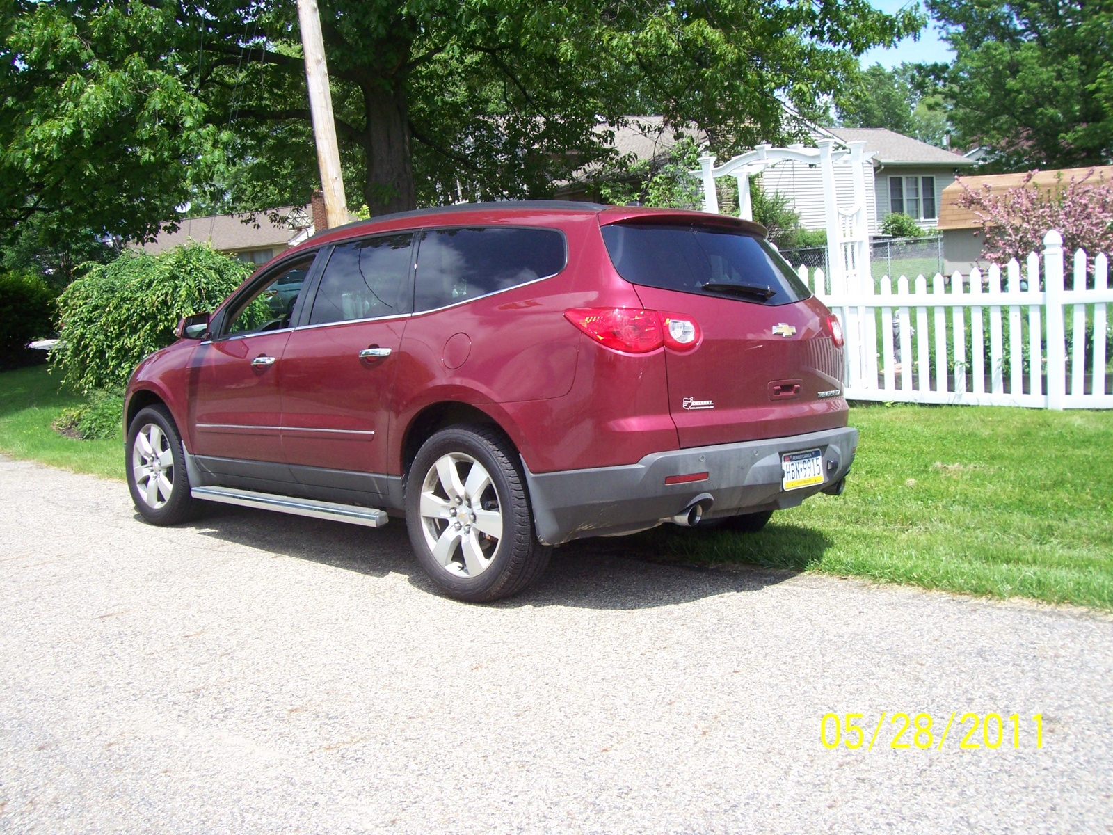 picture of 2011 chevrolet traverse ltz exterior. Cars Review. Best American Auto & Cars Review
