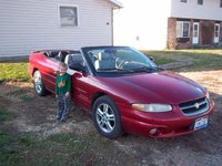 1997 Chrysler Sebring 2 Dr JXi Convertible, My 1997 Sebring JXi and my 2006 Nephew :), exterior, gallery_worthy