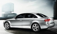 2012 Audi A4, Left Side View, manufacturer, exterior