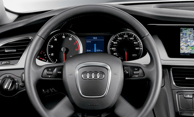 2012 Audi A4 Avant, Interior View (Audi of America, Inc.), interior, manufacturer