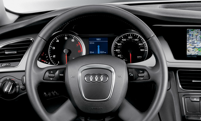 2012 Audi A4 Avant, Interior View (Audi of America, Inc.), manufacturer, interior