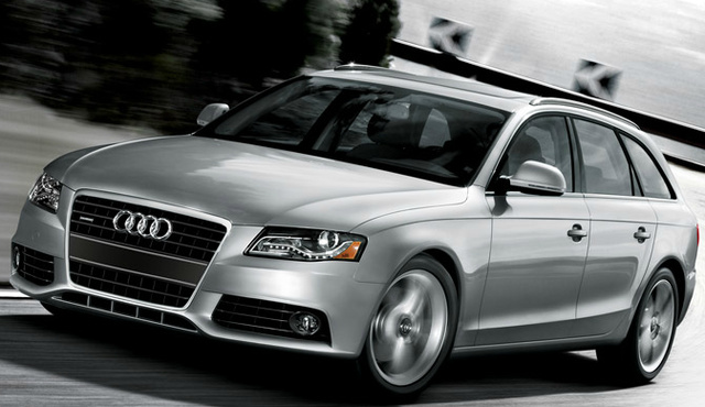 2012 Audi A4 Avant, Front Left Quarter View (Audi of America, Inc.), exterior, manufacturer
