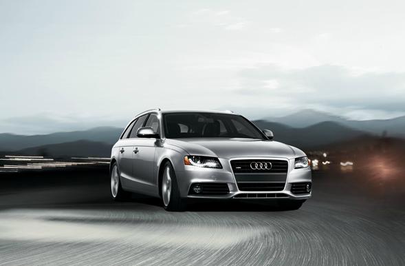 2012 Audi A4 Avant, Front View (Audi of America, Inc.), exterior, manufacturer