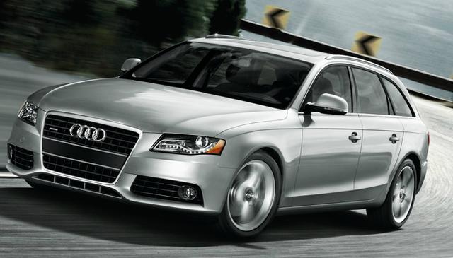 2012 Audi A4 Avant, Front Left Quarter View, exterior, manufacturer