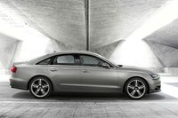 2012 Audi A6, Right Side View (Audi of America, Inc.), exterior, manufacturer