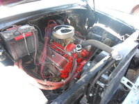 1955 Chevrolet Delray, Original 6 cyl replaed with this 327 ci, engine, gallery_worthy