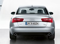 2012 Audi A6, Back View (Audi of America, Inc.), exterior, manufacturer