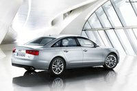 2012 Audi A6, Back Right Quarter View (Audi of America, Inc.), exterior, manufacturer, gallery_worthy