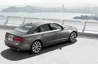 2012 Audi A6, Back Right Quarter View (Audi of America, Inc.), exterior, manufacturer