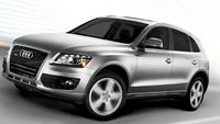 2012 Audi Q5, Front Left Quarter View (Audi of America, Inc.), exterior, manufacturer
