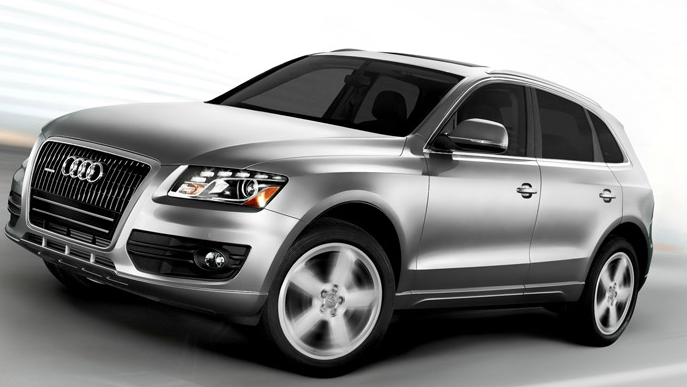 2012 Audi Q5, Front Left Quarter View (Audi of America, Inc.), manufacturer, exterior