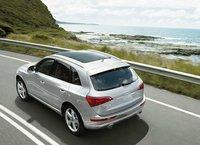 2012 Audi Q5, Overhead Rear View (Audi of America, Inc.), exterior, manufacturer
