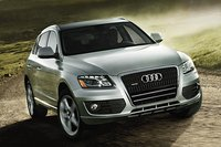 2012 Audi Q5, Front View (Audi of America, Inc.), exterior, manufacturer