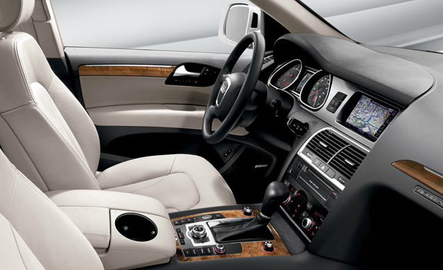 2012 Audi Q7, Interior View (Audi of America, Inc.), manufacturer, interior