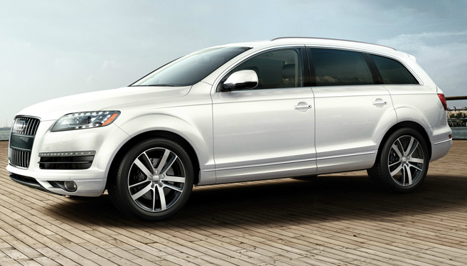 2012 Audi Q7, Left Side View (Audi of America, Inc.), manufacturer, exterior