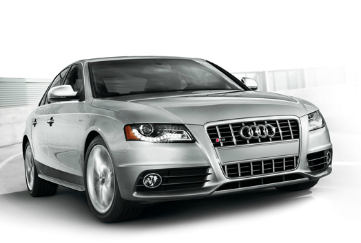 2012 Audi S4, Front Right Quarter View (Audi of America, Inc.), manufacturer, exterior