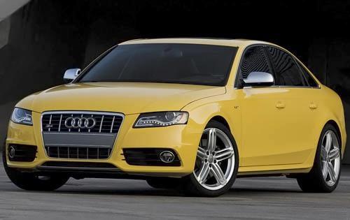 2012 Audi S4, Front Left Quarter View (Audi of America, Inc.), exterior, manufacturer