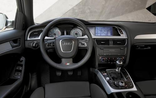 2012 Audi S4, Interior View (Audi of America, Inc.), interior, manufacturer