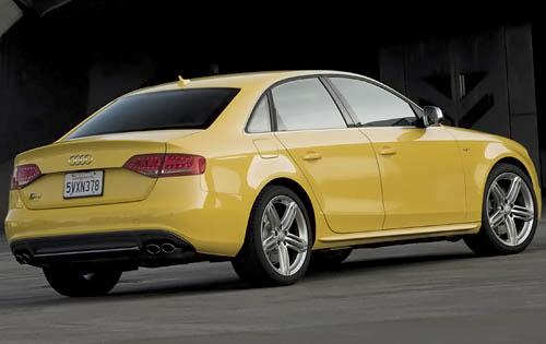 2012 Audi S4, Back Right Quarter View (Audi of America, Inc.), exterior, manufacturer